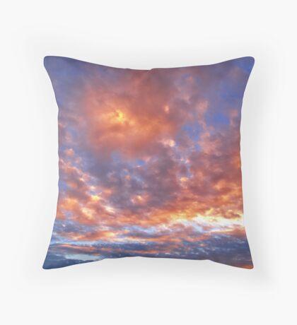 Peavine Blue Throw Pillow