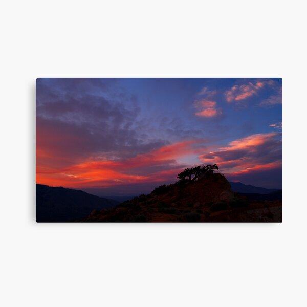 Petersen Sunset IV Canvas Print