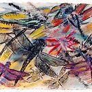 Dragonfly Forward by Susan  Detroy