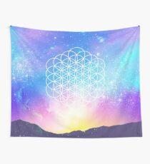 Sacred Geometry (Cosmic Flower) Wall Tapestry