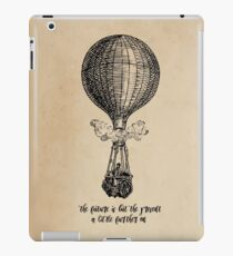 Jules Verne - The Future is but the Present iPad Case/Skin