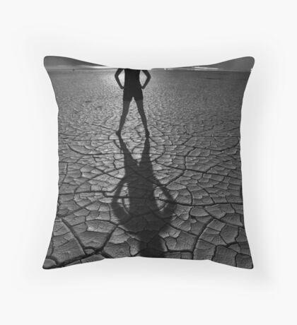 Moonshadow I Throw Pillow