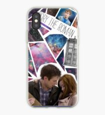 Amy and Rory iPhone Case