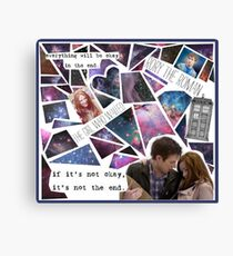 Amy and Rory Canvas Print
