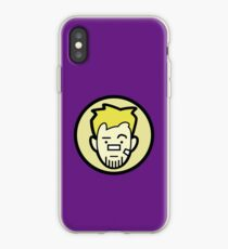 Barton business face iPhone Case