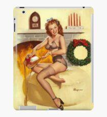 Christmas Present Gil Elvgren Pinup iPad Case/Skin