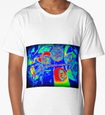 Psychedelic Indian Long T-Shirt