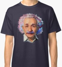 Albert Einstein - Galaxy Classic T-Shirt