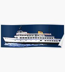 Block Island Ferry - the Carol Jean Poster