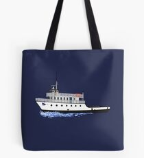 Block Island Ferry - the Manitou Tote Bag