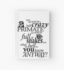 Crazy Primate (1) Hardcover Journal