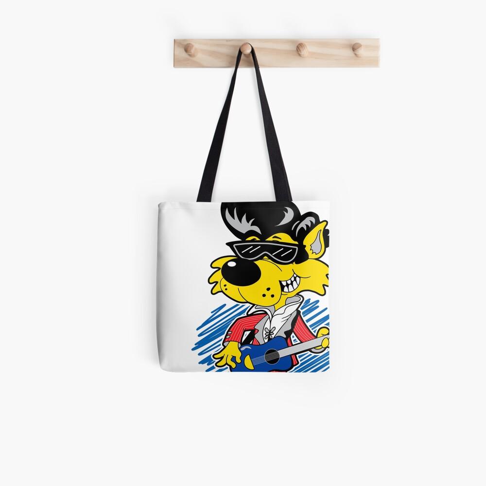 KOOLY KAT - Cropped White Tote Bag