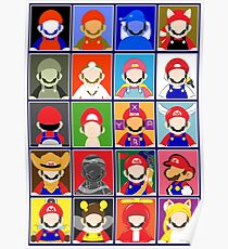 Minimal Mario Poster