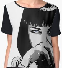 Pulp Fiction Mia Chiffon Top