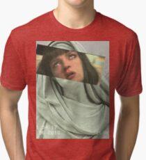 Aesthetic Pulp Fiction Tri-blend T-Shirt