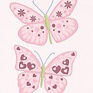Butterflies Greeting Card by Amanda Francey