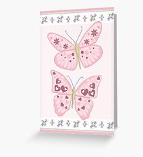 Butterflies Greeting Card Greeting Card