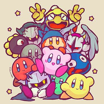Kirby group by MikotoTsuki