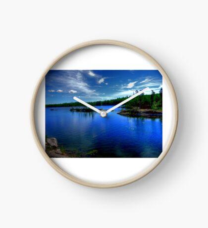 Dogtooth Lake Clock