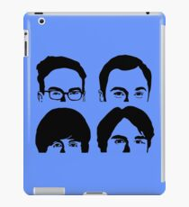 Four Faces Theory iPad Case/Skin