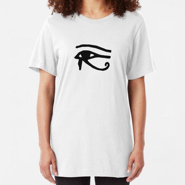Eye of Horus - Black Slim Fit T-Shirt