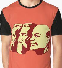 MARX ENGELS LENIN Graphic T-Shirt