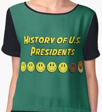 History of US presidents Chiffon Top