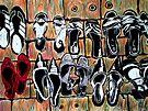 """Fav Shoes by Belinda """"BillyLee"""" NYE (Printmaker)"""