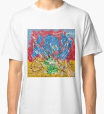 Frequency Abstract by Masko7 Classic T-Shirt