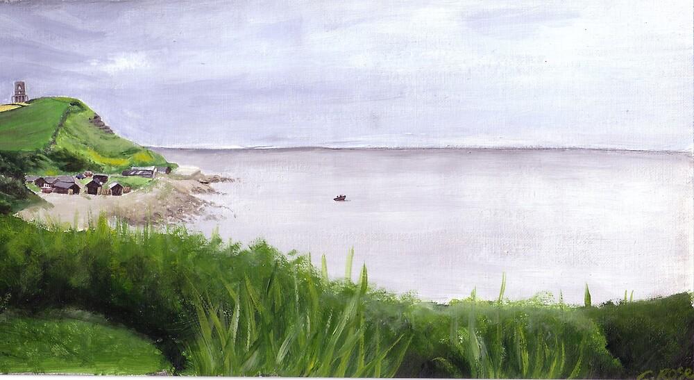 Kimmeridge Bay by Charlotte Rose