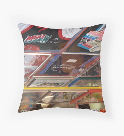 DGN Ceiling Jerseys Throw Pillow