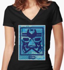LUCHA LIBEY dos Women's Fitted V-Neck T-Shirt