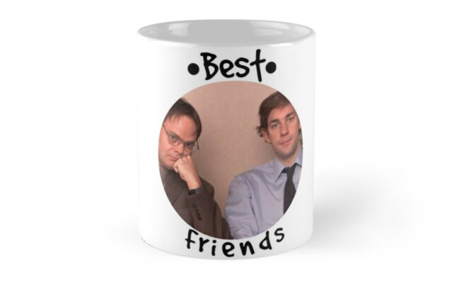 Jim and Dwight - Best Friends Unite! by TellAVision