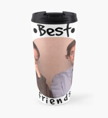 Jim and Dwight - Best Friends Unite! Travel Mug
