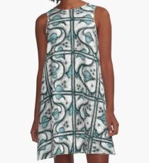 Leaf and Vines  A-Line Dress