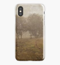 Winding Dirt Road through the Pinnacle in Canberra/ACT/Australia iPhone Case/Skin