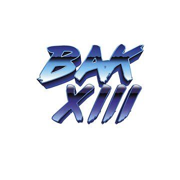 BAK XIII - Logo 80's by JudgeDrek