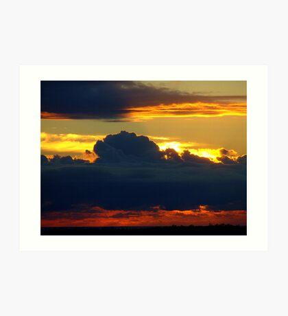 Hidden Sunrise........... Art Print
