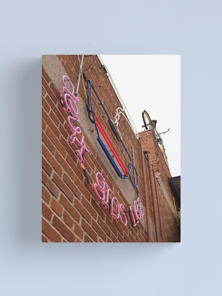 Alternate view of DGN Sign Canvas Print