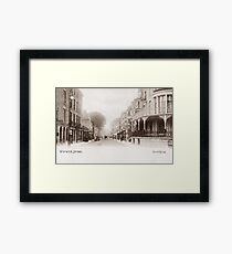 Ref: 51 - The Broadway, Worthing, West Sussex. Framed Print