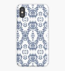Mormor Damask - White iPhone Case