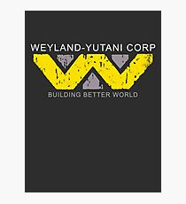 Weyland Corp 002 Photographic Print