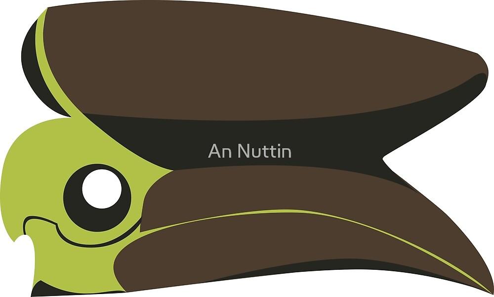 Hornbill skull by An Nuttin