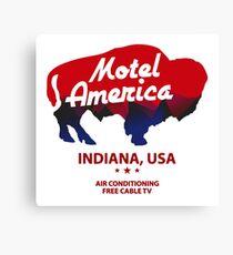 motel america Canvas Print