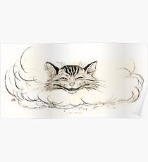 The Cheshire Cat by Arthur Rackham Poster