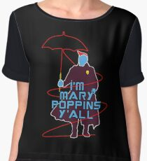 I'm Mary Poppins Women's Chiffon Top