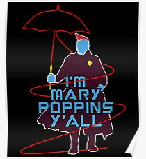 I'm Mary Poppins Poster