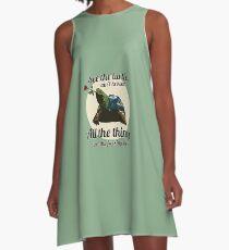 Keen Turtle A-Line Dress
