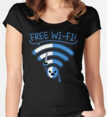 Free Free!!! Women's Fitted Scoop T-Shirt