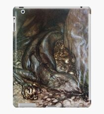 Lazy Lizard by Arthur Rackham iPad Case/Skin